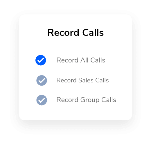 Recording System for Business