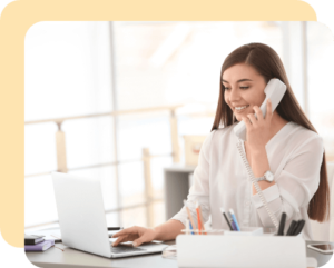 Distribute all your inbound calls to different departments and staff