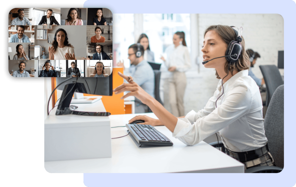 call landlines and mobile through voip