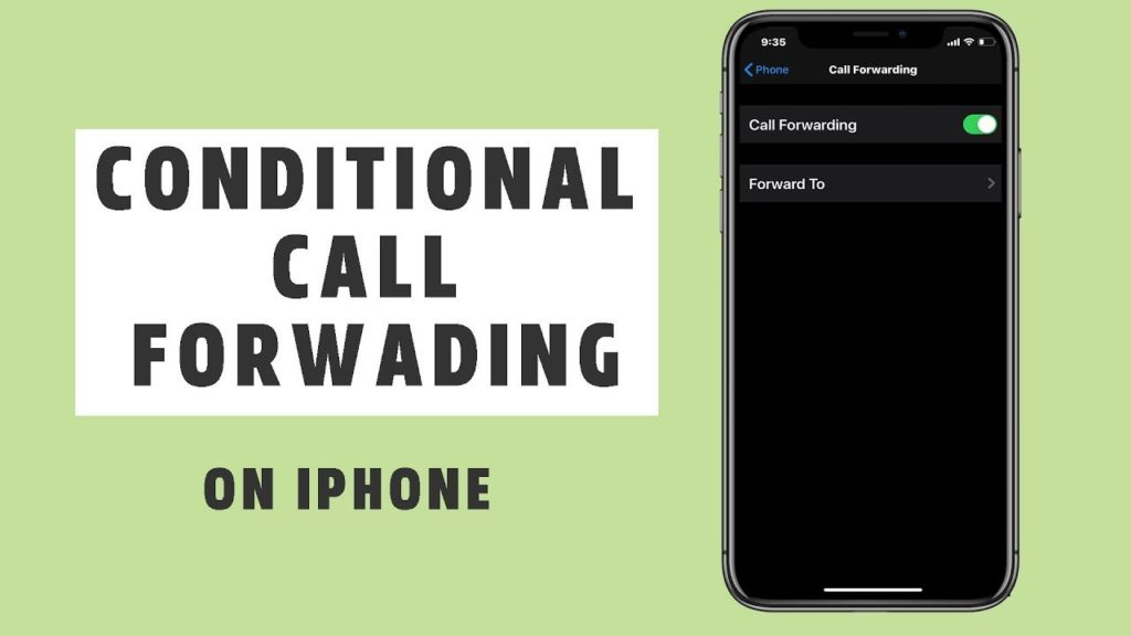 Call forwarding when iPhone is not answered