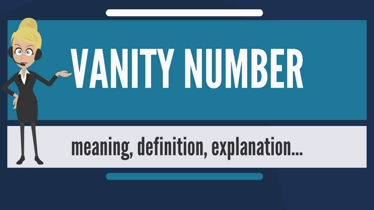 what are vanity numbers